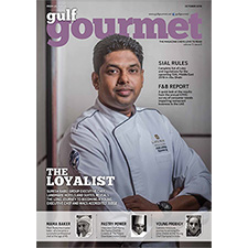 Gulf Gourmet October 2016 magazine cover