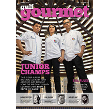 Gulf Gourmet December 2017 cover
