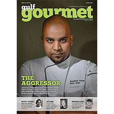 Gulf Gourmet March 2017 cover